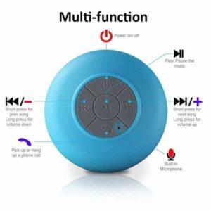 GANSS Waterproof Bluetooth Shower Speaker