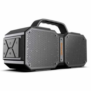 5. BUGANI Bluetooth Speakers with Handle