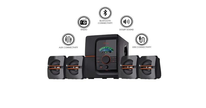 IKALL IK-401 60W Bluetooth Music System under 2000