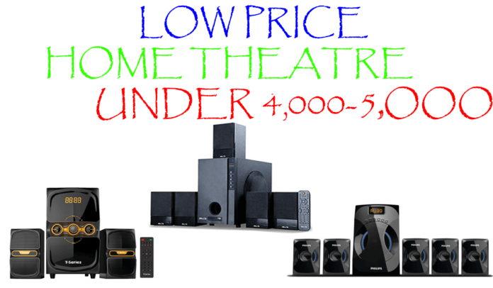 5 Best Home Theatre Music Systems Under 4,000 to 5,000 in India