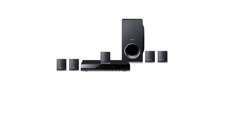 7. Sony DAV-TZ145 Real Home theatre system with DVD player