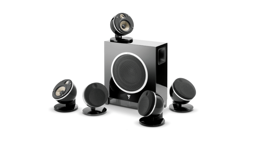 Focal Dome 5.1-Channel Home Theater Speaker System