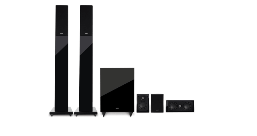 Tannoy HTS 201 Tower and Stellite Home theatre system