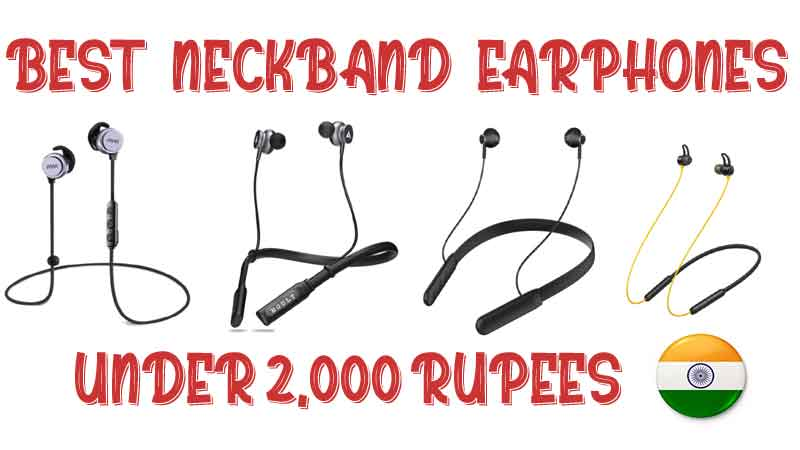 buy best neckband headphones in India