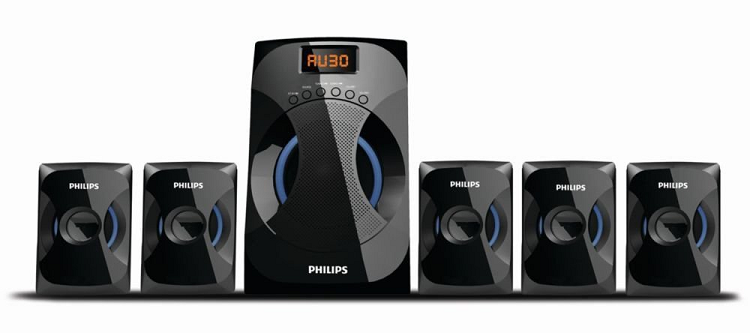 Philips 5.1 home theatre music system with cool design