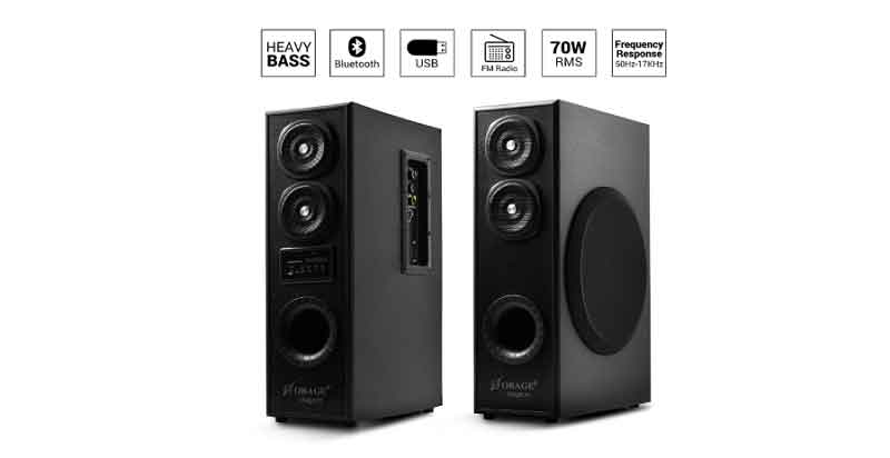 floor standing music system under 5000 in India