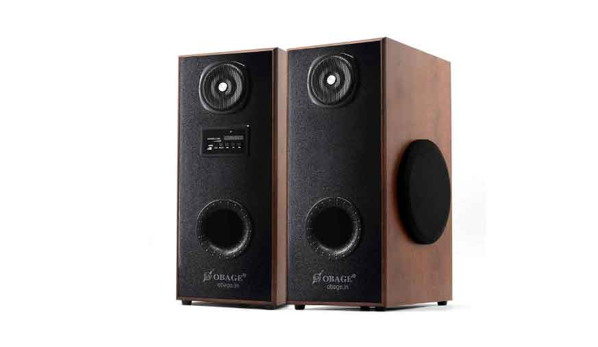 OBAGE DT-21 The Audiophile version Dual Tower Multimedia speaker system