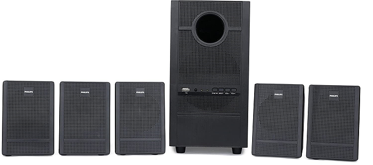 Best Philips Home Theatres 5.1 in India