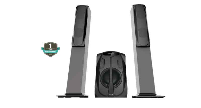 Ibell 2871TS 75-watts 2.1 tower speakers multimedia system