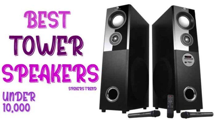 Top 5 tower floor standing speakers