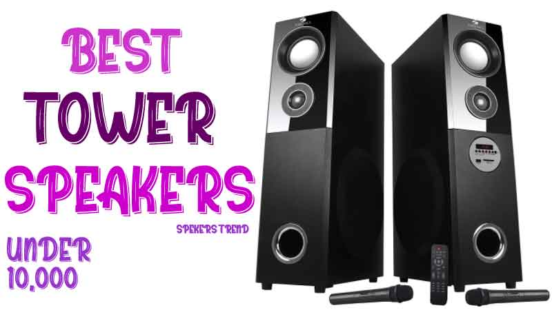 Top 5 tower floor standing speakers