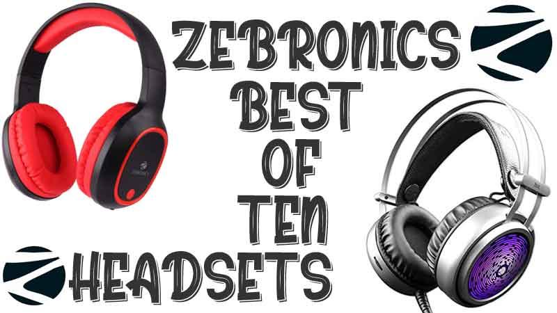 buy best zebronics headphones online