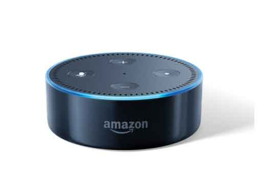 Amazon echo dot 2nd gen portable speaker with bluetooth and wifi