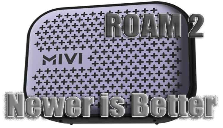 mivi roam 2 5 watts portable bluetooth speaker