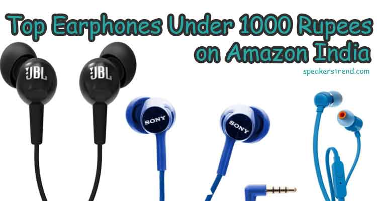 wired earphones to buy in India under 1000 rupees