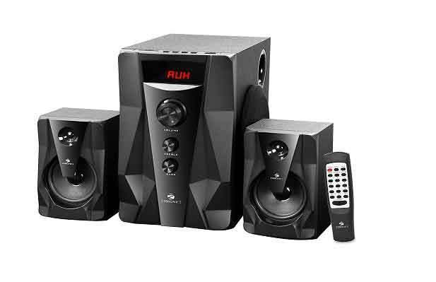 Omega 2.1 channel speaker system