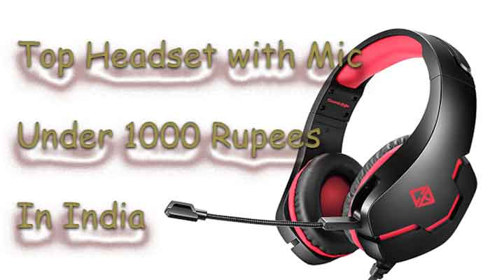 low price headset with mic price