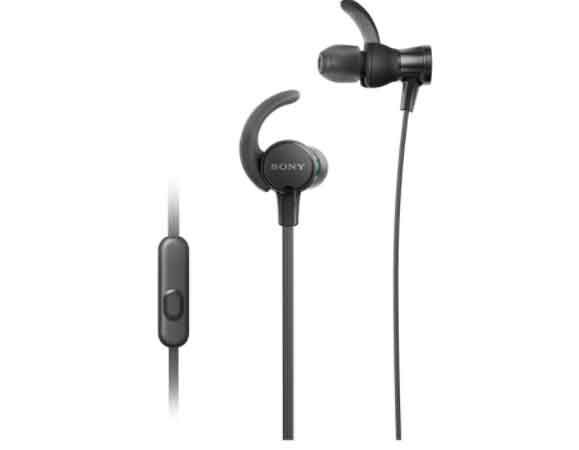 wired earphones price from Sony