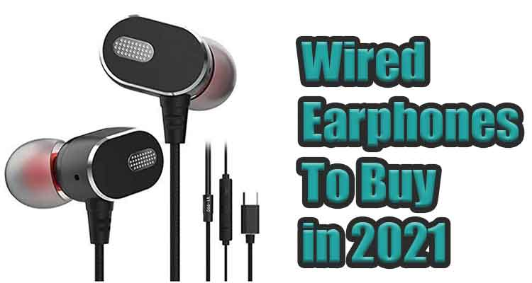 top wired earphones with mic