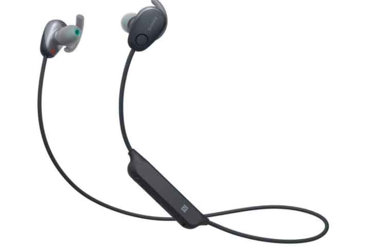 SONY MDR-XB80BS neckband earphones