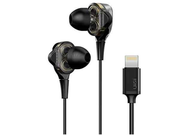 MFRI Certified wired earphones for iOS device
