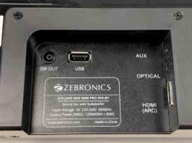 How to Connect Zebronics Soundbar (Aux cable)?