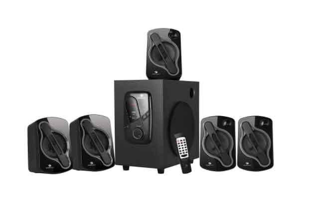 SPK-BT6990RUCF ZEBRONICS Computer Speaker Multimedia 5.1