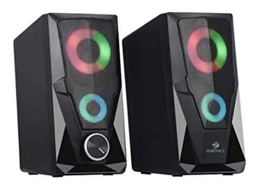 Top Zebronics Computer Speakers with Bluetooth