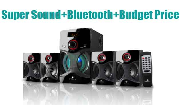 Zebronics BT4440rucf 4.1 Channel Bluetooth Speakers Review