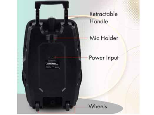 Specifications and features of ZEB 100 moving monster