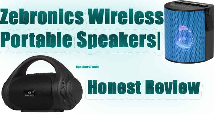 portable speakers with bluetooth zebronics