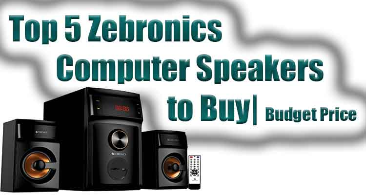 best zerbronics computer speakers reviews under low price