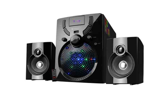 home theatre 2.1 channel speaker