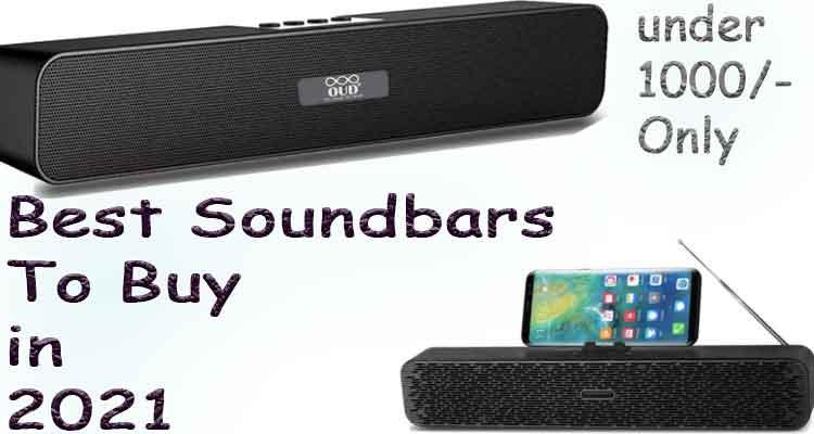 best soundbars under 1000