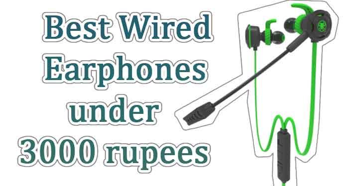 best wired earphones under 3000 in 2021